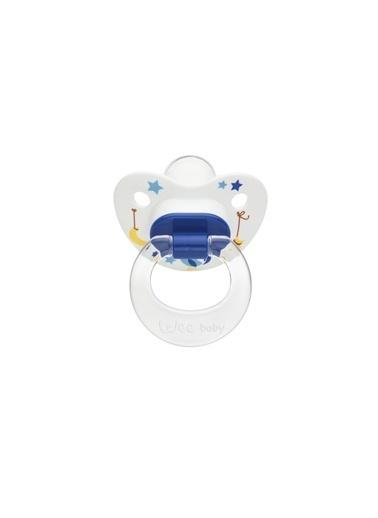 Wee Wee Baby 834 Desenli Damaklı Emzik 6-18Ay  Mavi